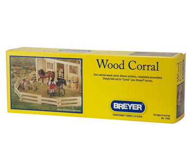 Wood Corral Model Breyer