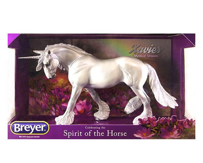 Xavier Mystical Unicorn Stallion Model Breyer