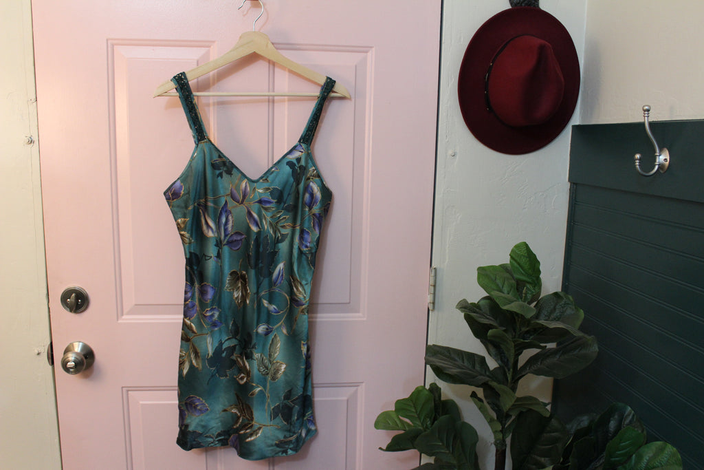 Green California Dynasty Night Gown