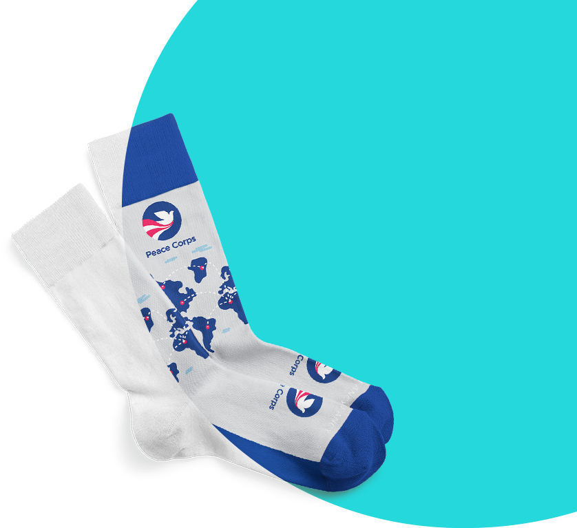 custom socks free mockups