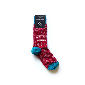 Custom Combed Cotton Crew Sock 3