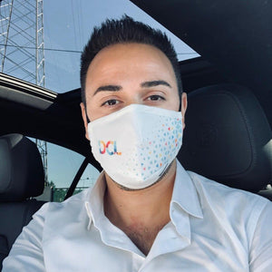 Customized Triple‑ply Cotton Face Mask