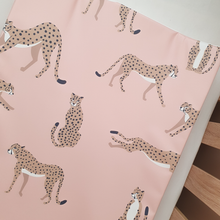 Load image into Gallery viewer, Deluxe Wedge Anti-roll Baby Changing Mat - Cheetah