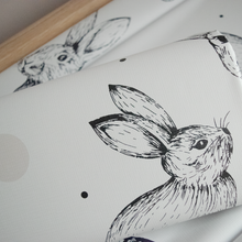 Load image into Gallery viewer, Deluxe Baby Travel Changing Mat - Rabbit
