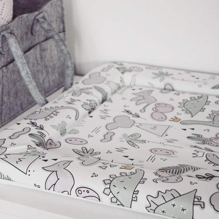 Deluxe Baby Changing Mat - Dinosaur