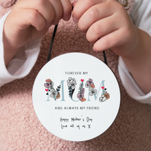 Load image into Gallery viewer, Personalised Mother's Day Hanging Keepsake