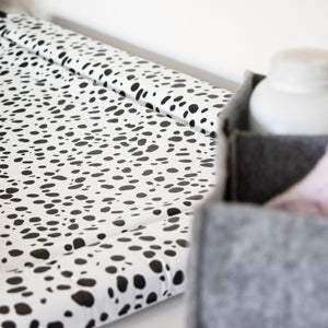 Deluxe Baby Changing Mat - Spots