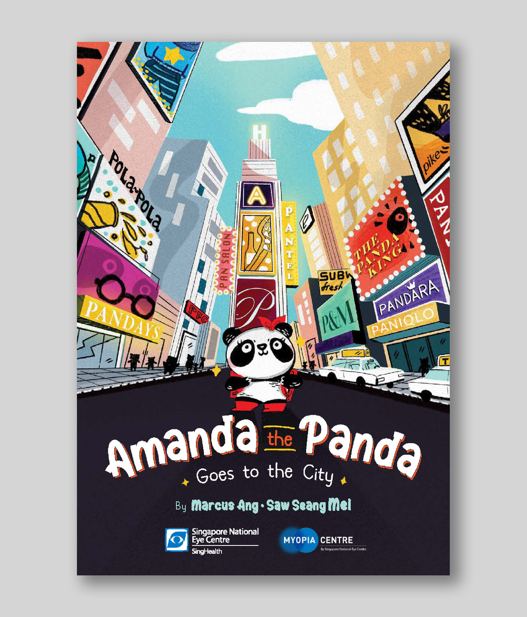 Amanda the Panda: Goes to the City