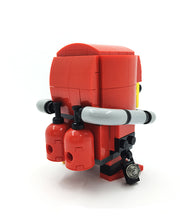 Load image into Gallery viewer, Asian Scientist Junior LEGO BrickHeadz series
