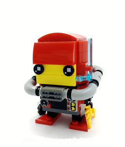 Asian Scientist Junior LEGO BrickHeadz series