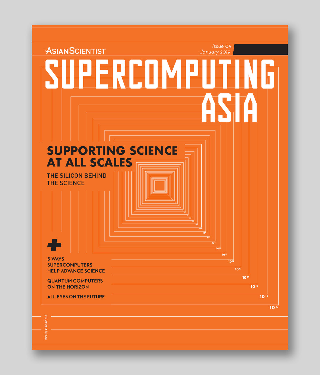 Supercomputing Asia (January 2019)