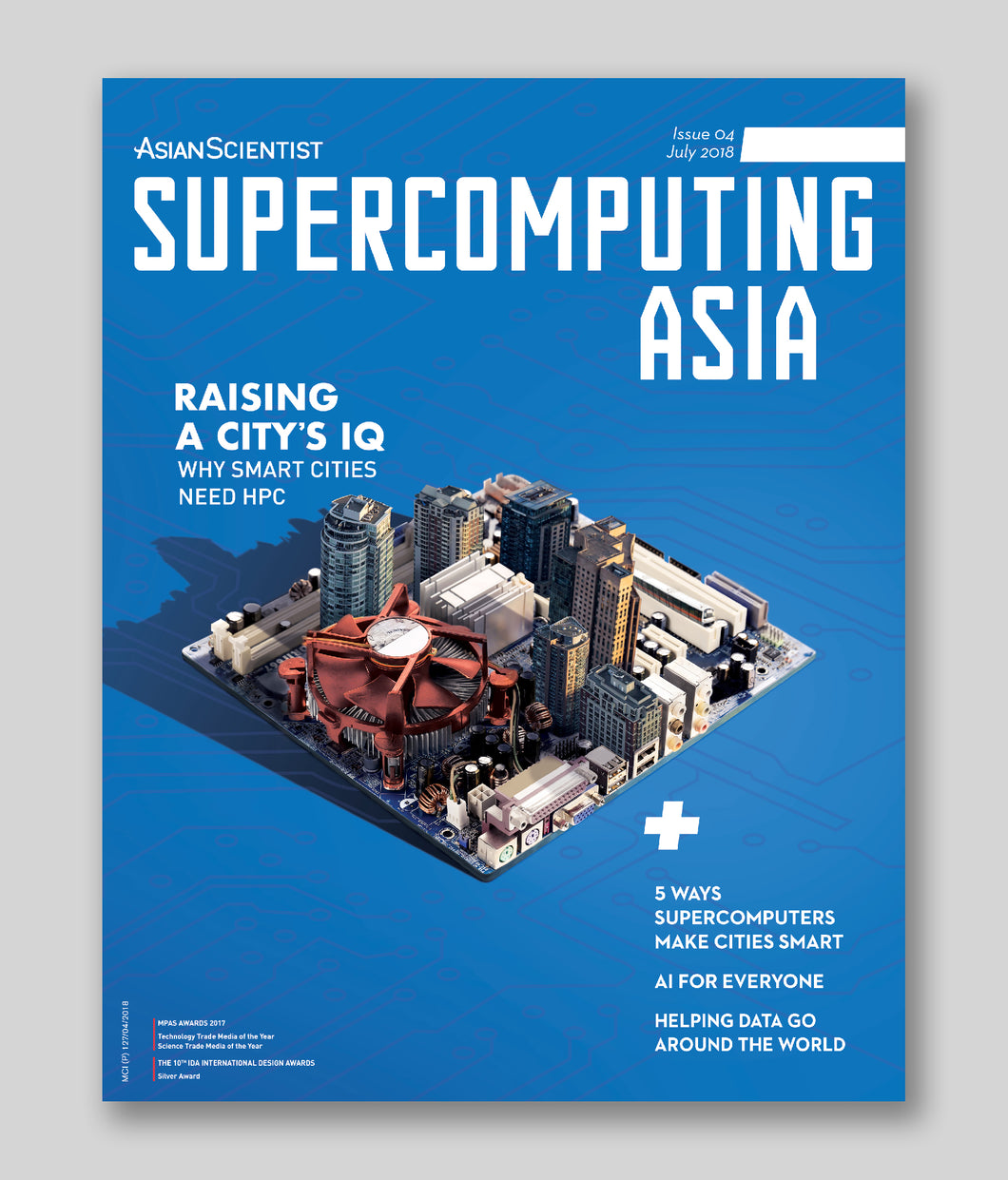 Supercomputing Asia (July 2018)