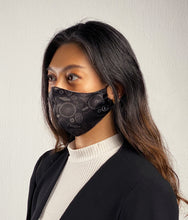 Load image into Gallery viewer, MoleCool Reusable Face Mask by Asian Scientist (Black)