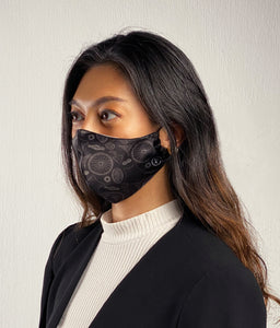 MoleCool Reusable Face Mask by Asian Scientist (Black)