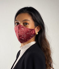Load image into Gallery viewer, MoleCool Reusable Face Mask by Asian Scientist (Red)