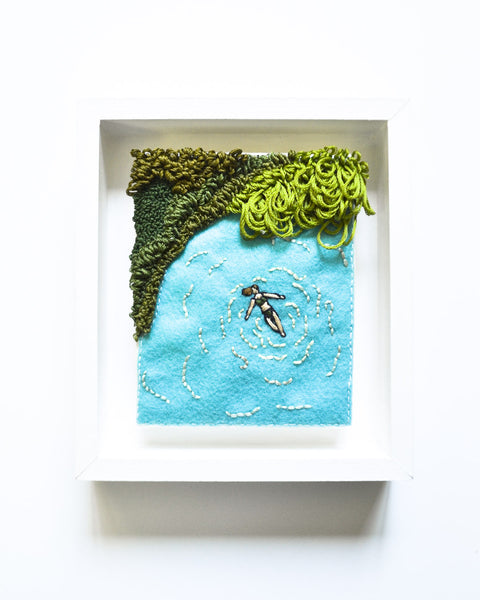Mini Lagoon No. 1 Original Art