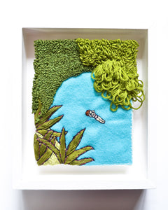 Mini Lagoon No. 3 Original Art