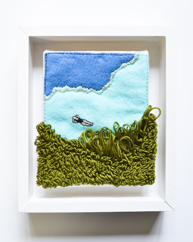 Mini Lagoon No. 6 Original Art