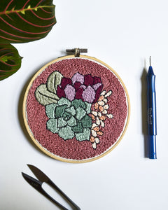 Autumn Bouquet Embroidery Pattern PDF