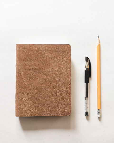 Standard Embroidered Leather Journal