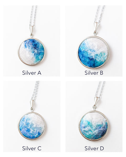 Ocean Necklace - Silver