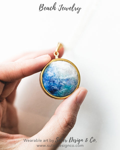 Ocean Necklace - Gold
