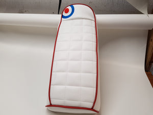 Scomadi/Royal Alloy Square Quilt With Roundel Seat Cover