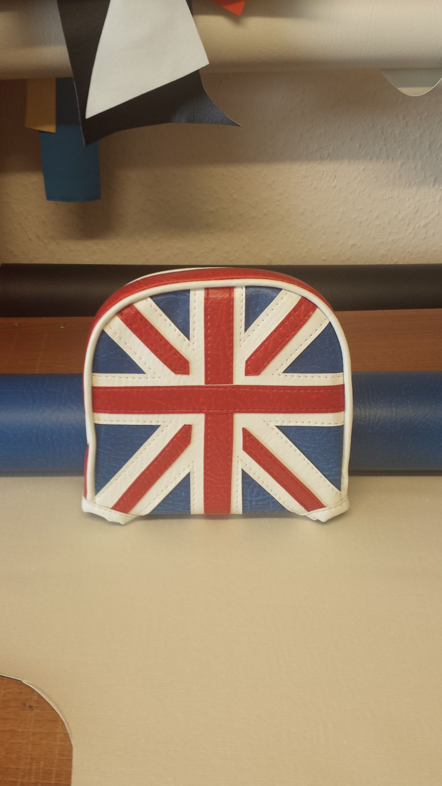 Scomadi Union Jack Backrest Pad