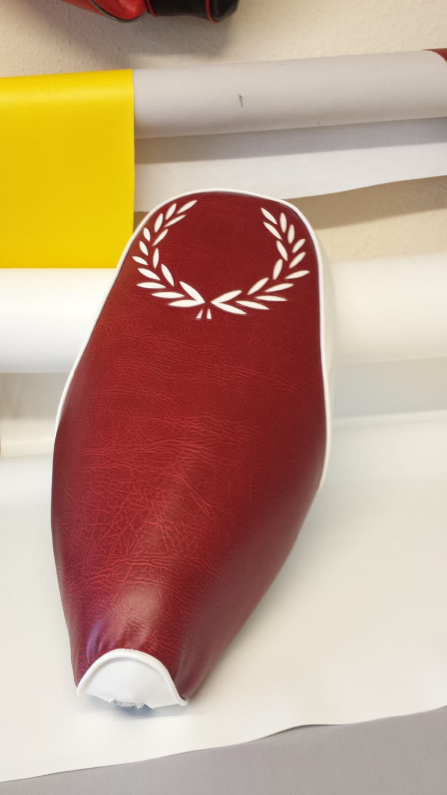 Vespa ET/LX Leaf Design Seat Cover