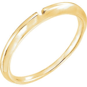 14K Yellow Band #2