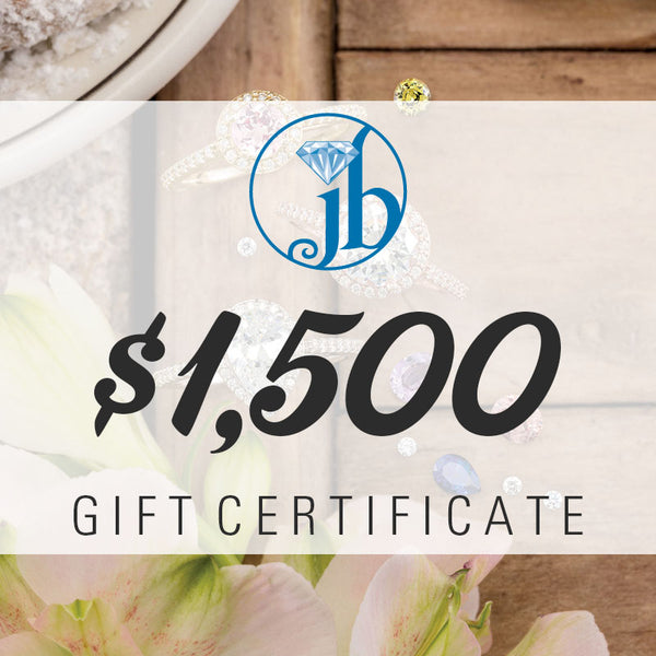 $1500 Gift Certificate