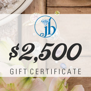 $2500 Gift Certificate