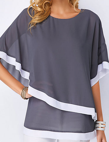 Street Chic Loose Blouse Top