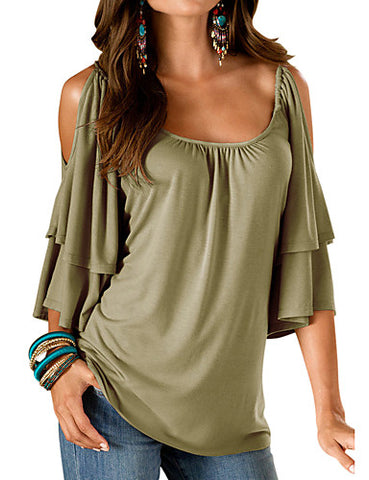 Going out Loose blouse