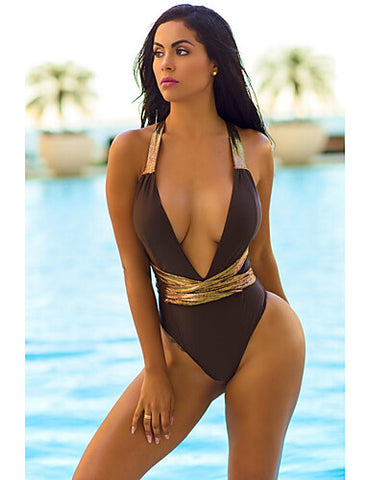 One-piece Swimwear Thong