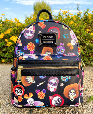 In Stock, Ready to ship! Awesome Collectibles Exclusive Coco AOP Mini Backpack