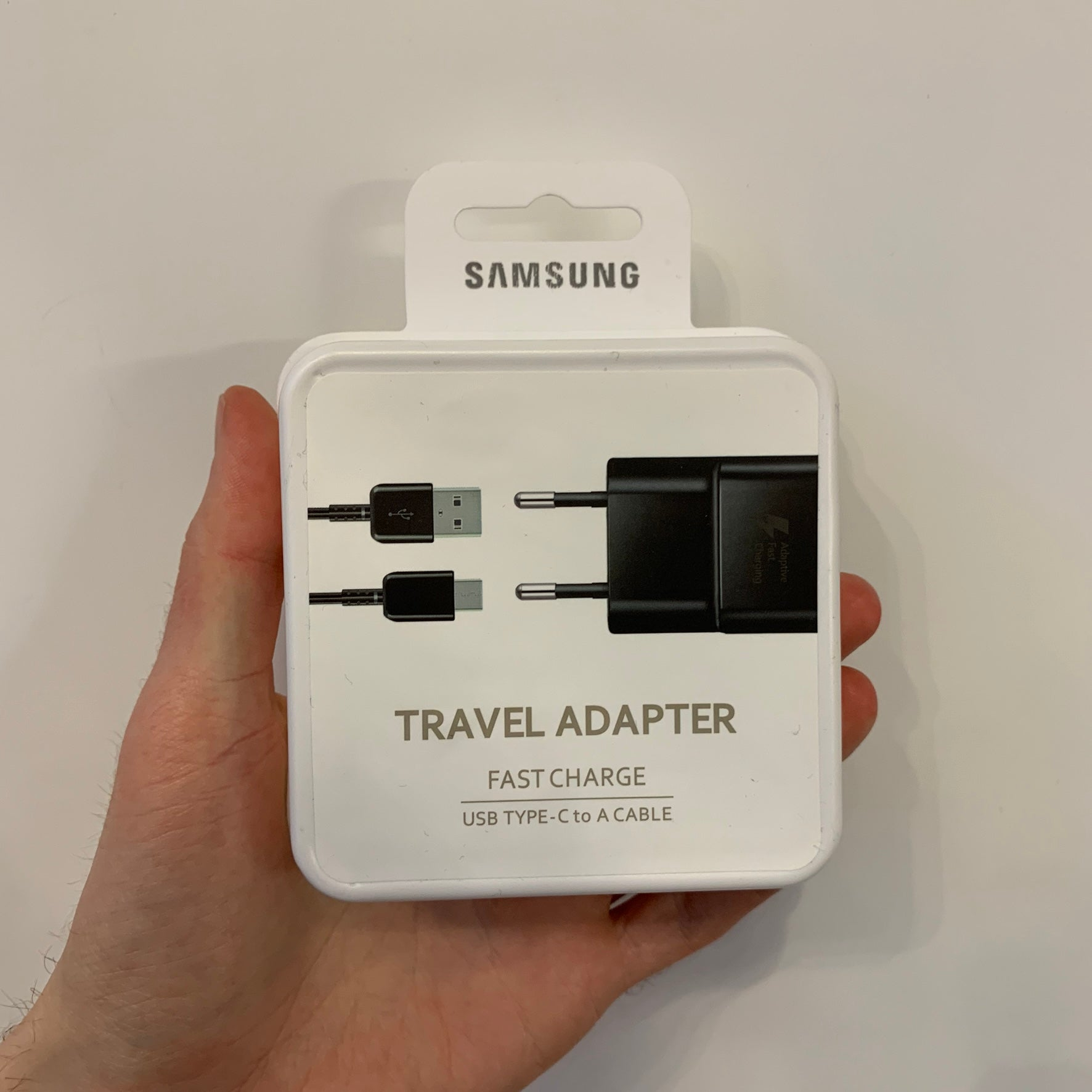 Samsung USB-C Charging cable + Charging adapter