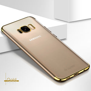 Clear case Samsung Galaxy S8/s8+ Deksler