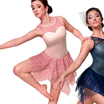 P268 Great Beauty - Cameo Pink - Contemporary, Online Dance Costumes