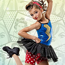 T4834 Power Surge - Jazz, Tap & Hip Hop, Online Dance Costumes