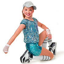 E1248 Punchin' Pizzazz - Jazz, Tap & Hip Hop, Online Dance Costumes