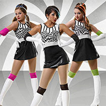 T4841 Club Retro - Jazz, Tap & Hip Hop, Online Dance Costumes