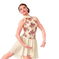 R327 Sweet Surrender - Contemporary, Online Dance Costumes
