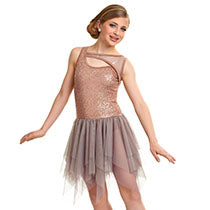 E1699 Almost Paradise - Contemporary, Online Dance Costumes