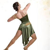 R112 Jagged Edge - Contemporary, Online Dance Costumes
