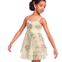 E1363 Golden Slumber - Contemporary, Online Dance Costumes