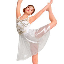 E1361 Crystal Illusion - Contemporary, Online Dance Costumes