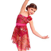 E1368 Edge of Glory - Contemporary, Online Dance Costumes
