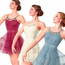 R341 Warms My Heart (Rose Only) - Contemporary, Online Dance Costumes