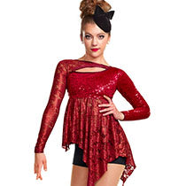 J4883 Glamazon - Jazz, Tap & Hip Hop, Online Dance Costumes